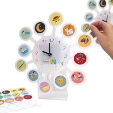 שעון פעילויות עם מדבקות