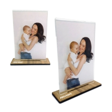 מסגרת אורכית עם בסיס עץ